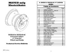 Technical Manuals & Service Bulletins
