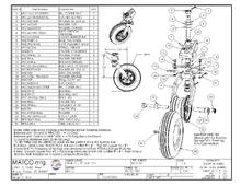 T-8D Assembly Drawing