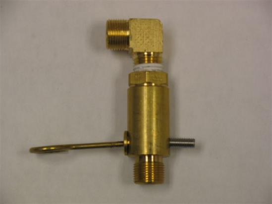 Fleck 2300 Safety Valve Brass Fl2300